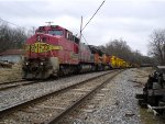 BNSF 512 and 538