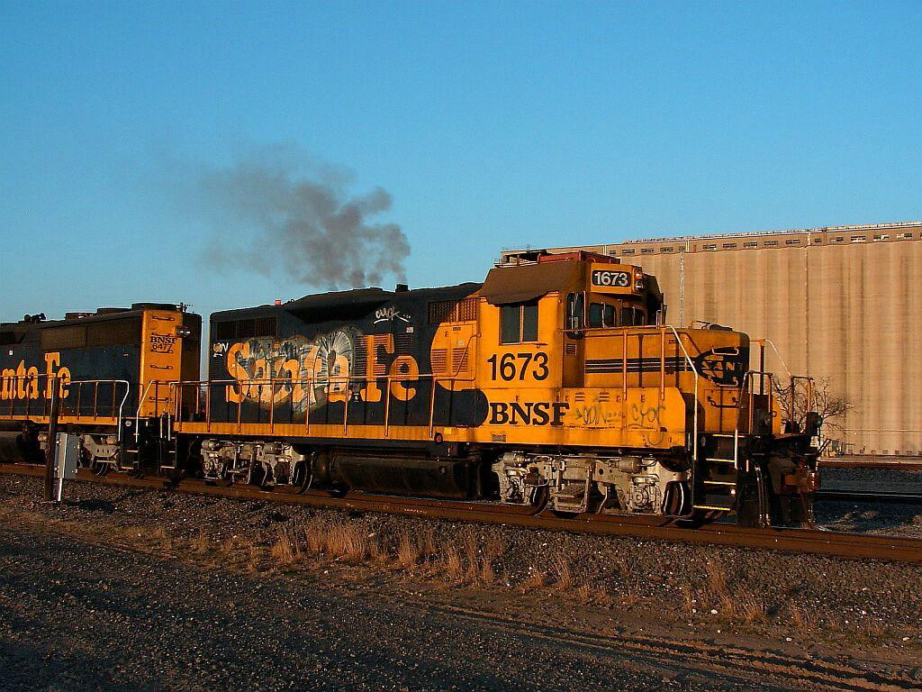 BNSF 1673