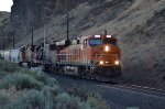 evening grain train near near Maryhill State Park