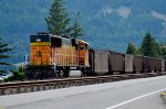 DPU pushing westbound along the Columbia River