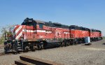Old Spirit of Washington locos now in Prosser