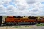BNSF 8782 is #3 in the lashup in Hatton, WA