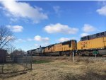 Trailing units on CSX Q531