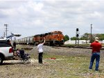 "Railfans having fun at ""24 Hours at Saginaw"""