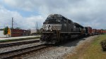 NS 2683 leads a Southbound intermodal from Whitaker Yard