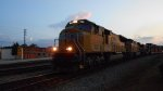 UP 3844 leads NS 223 Southbound