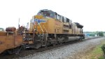 UP 8607 SD70ACe Northbound long hood forward