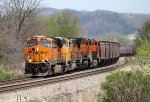 Eastbound BNSF Grain Train