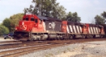 CN 6006 leads westbound at South Bend, In