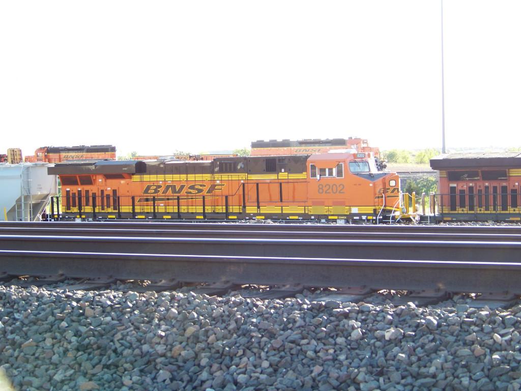 BNSF ES44C4 8202