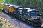 NS 9729 Leads NS 267 west through town..