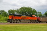 BNSF 9062 Dpu on a loaded coal train.