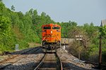 BNSF 9263 Dpu on a loaded coal train.