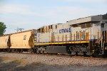CREX 1337 2nd unit out on a SB grain train.