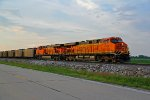 BNSF 6438 Blast out of Old Monroe Mo.