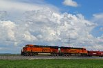 BNSF 6998 Sits and holds the main down..