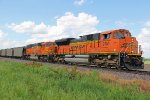 BNSF 9151 Leads a loaded coal drag into Elsberry Mo.