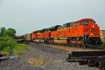 BNSF 9219 Leads a coal load SB into Old Monroe Mo.