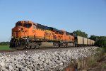 BNSF 6066 Leads a empty coal up the K Line..