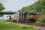 NS 9787 Heads up NS 20T toward Decatur IL