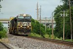 NS 9791 Leads NS 224 out of Wentzville Mo..