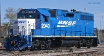 BNSF 2043 front angle
