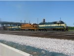 GWI train leaving CSX Yard