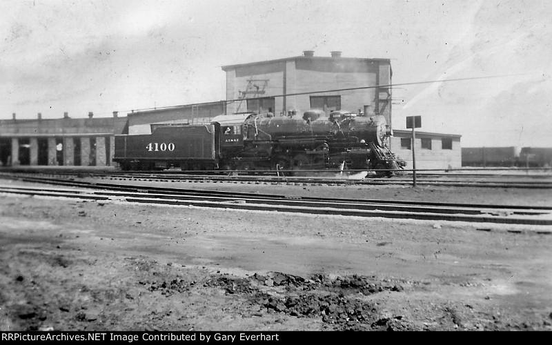 ATSF #4100 - Atchison, Topeka & Santa Fe