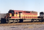 Wisconsin Central 6006 was being used on the local city job