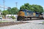 CSX 4832 on CSX train Q217-23