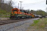 BNSF 589 and 588