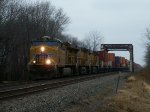 UP 7364 westbound UP intermodal train