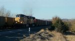 UP 6490 eastbound UP loaded coal train