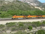 BNSF 7738 and BNSF 7706 at Cajon Pass