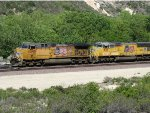 UP 5595 and UP 5132 at Cajon Pass