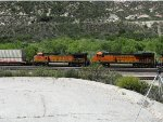 BNSF 5045 & BNSF 7447 at Cajon Pass