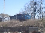conrail on a ns train