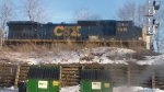 csx in dayton ohio at 2ndstreet