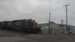 csx at the ray st crossing in dayton ohio