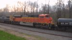 bnsf on a csx mixed frieght