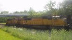 k403 with all up power on the csx main line