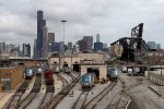 Amtrak's Locomotive Shops in the windy city