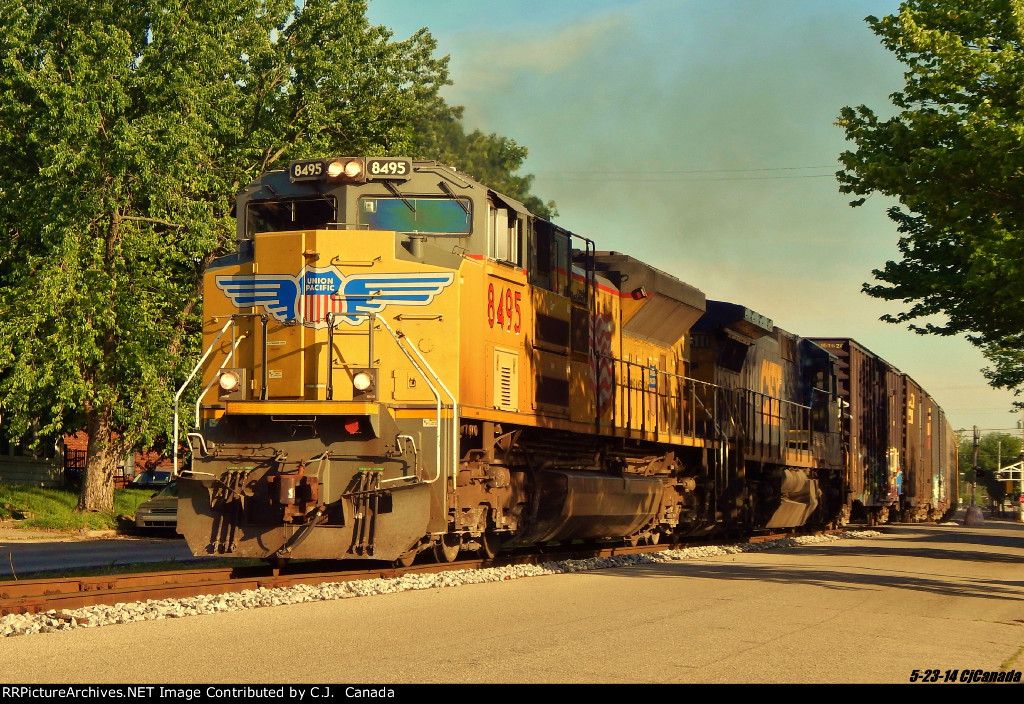 CSXT Q226 NB @ Seymour, In