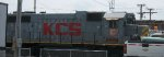 KCS 2014, GP38-2, engineer's side view