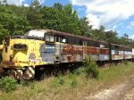 Former LIRR FA1 among stored power