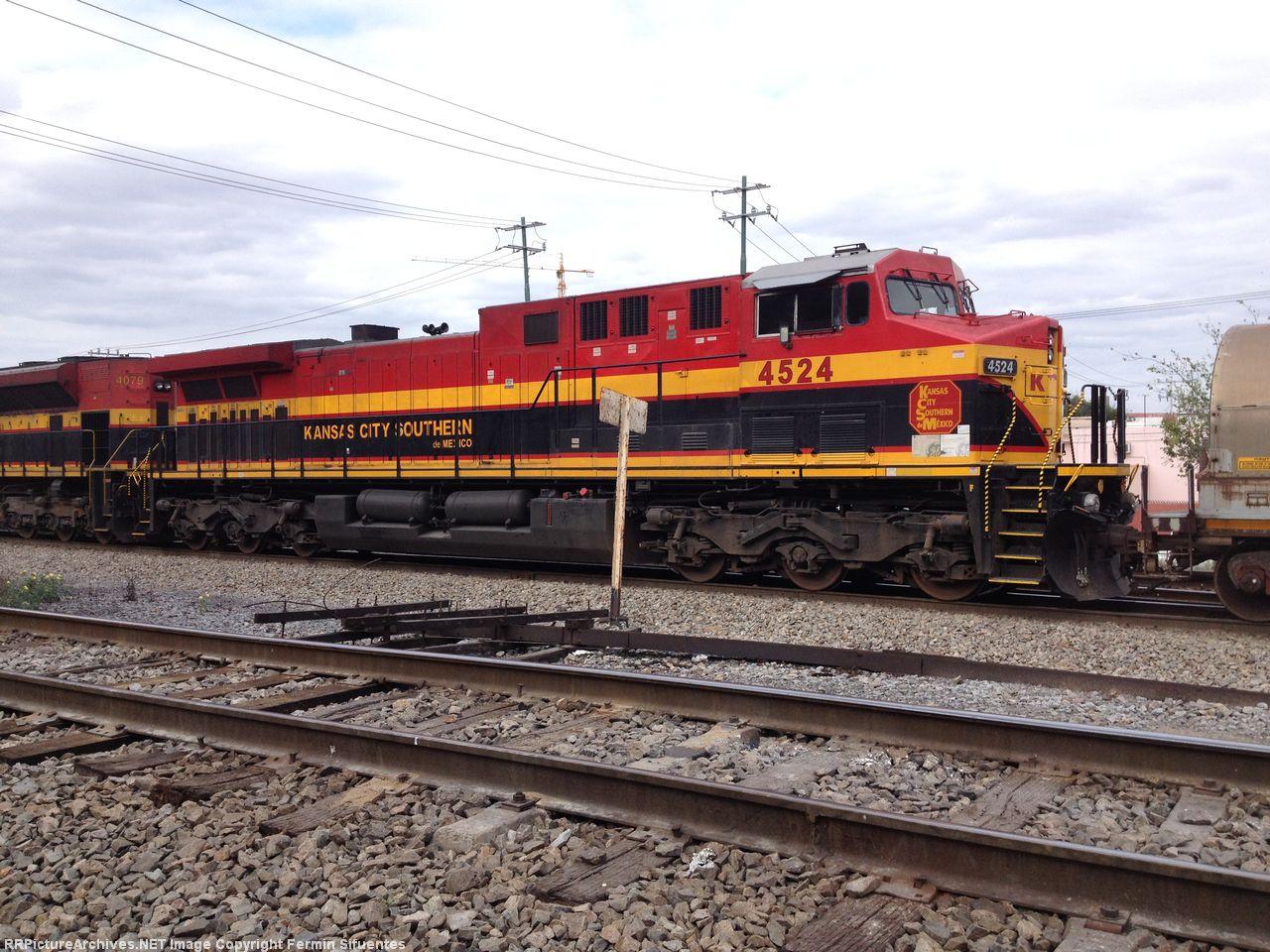 KCSM 4524 Repainted