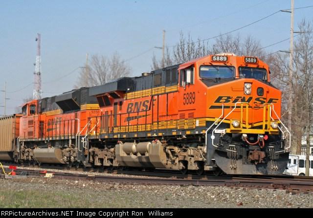 BNSF 5889/9350