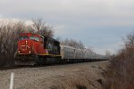 "CN 5782 & RBBB ""Red"" Train headed for winter to Tampa, FL"