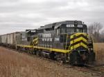 INER 2185 & 1073 W/Grain Train