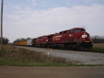 CP 8655 & 8621 EB on NS Wabash Line
